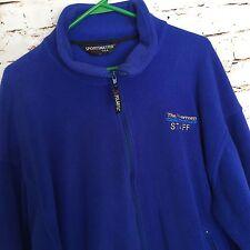 "Sportsmaster Men's Jacket Size Large Fleece Zipper Polartec ""The Riverman"" logo"