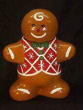 Harry & David Gingerbread Man 2009 Cookie Jar