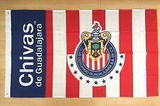 Chivas Guadalajara 3x5 ft Flag Banner Mexico Futbol Soccer Bandera