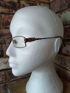 GUESS GU1537 eyeglasses glasses frame - purple leopard print