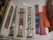 One And S/S Mesh Nice Condition 42Mm Lot Of 7 Apple Watchbands Some Bling