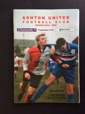 Football Non-League Fixture Programmes (2000s)