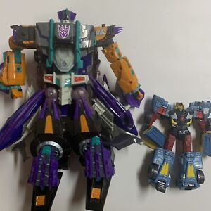 Transformers Cybertron Leader Action Figure Hasbro 2004 + Other 2004 Figure RARE