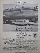 3/1968 PUB STEWART & STEVENSON AIR INDIA MAKALU ELECTRICAL GROUND POWER AD