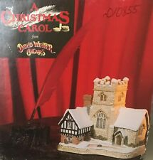 David Winter Cottage - A Christmas Carrol 1989