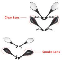 Rear View Mirrors LED Turn Signals For Honda CBR 600RR 03-14 12 CBR500R 12-14 13