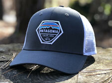PATAGONIA FITZ ROY HEX TRUCKER HAT - FORGE GREY - Fall 2017