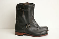 NEW Frye Mens 'Arkansas' Engineer Leather Boot- Black - Size 8.5 M - 87423 (Y22)