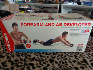 Weider Forearm and Abb Developer Brand NEW Sealed Box