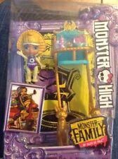 "Monster High Family of Cleo De Nile Sandy de Nile Baby 2.5"" High Chair Siblings"
