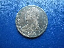 1937 reeded edge capped bust half dollar xf-au