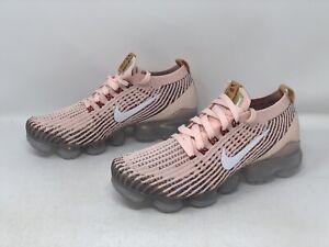 Nike Air Vapormax Flyknit 3 'Sunset Tint Pink Sneakers, Size 7.5 BNIB AJ6910-602