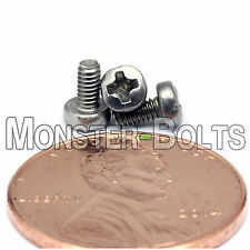 M2 x 4mm - Qty 10 - Stainless Steel Phillips Pan Head Machine Screws DIN 7985 A