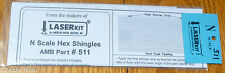 American Model Builders, Inc N #511 Hex Shingles (Peel & Stick Adhesive)