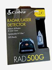 Brand New & Sealed! Cobra Rad 500G Radar Detector