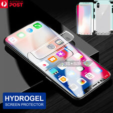Film Aqua Hydrogel Flexible Screen Protector for Samsung Galaxy S9 S8 S7 Note 9