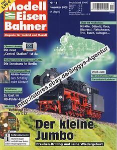 Modell Eisen Bahner 11/2008 November 2008 Magazin für Vorbild und Modell