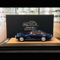 DreamPower 1:43 Scale Mercedes-Benz 300SL 1956 Moroccan Blue Limited Car Model