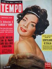 TEMPO n°6 1961 Ziva Rodann - Martine Carol - Mina e Milva  [C89]