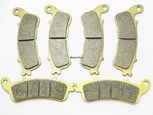 Front Rear Brake Pads For Honda NT 700 Deauville 2005 06 07 2008 2009 2010 2011