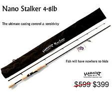 2017 HAMACHI Tackle Japan - Nano Stalker 4 - 8 LB Japanese spin fishing rod