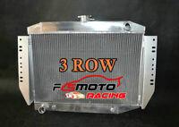 3 ROW Aluminum Radiator For 72-79 Jeep Cherokee Wagoneer J-Series 4.2/5.9/6.6 V8