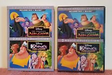 Authentic Disney: The Emperor's New Groove & Kronk's New Groove (Blu-ray+DVD)NEW
