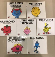 U GET 7 X MR MEN LITTLE MISS COLLECTION BOOKS ROGER HARGREAVES FREE POST