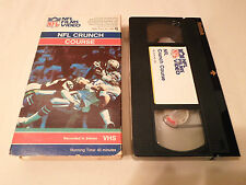 Tested ! NFL Crunch Course 1985 VHS Film Video Time for Big Hits History Tackles