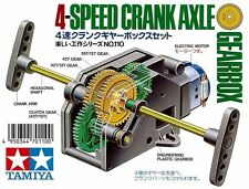 TAMIYA EDUCATIONAL 4 SPEED CRANK AXLE GEARBOX   ART 70110