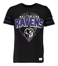 Baltimore Ravens NFL American Football Logo Men's T Shirt: Large
