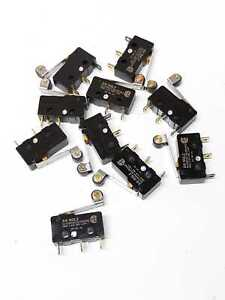 Omron SS-5GL2 Microswitch Lot of 10