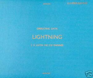 ENGLISH ELECTRIC LIGHTNING - OPERATING DATA MANUAL