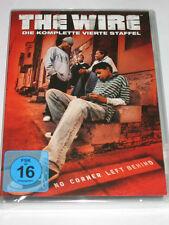 The Wire-temporada 4 - 5 DVDs/nuevo/en el embalaje original/novela policíaca/Dominic West/hbo/13 episodios
