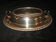 Vintage Silverplated 2 Piece Serving Dish - EPC