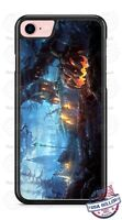 Halloween Creepy Pumpkin Village Phone Case for iPhone Samsung Google LG etc