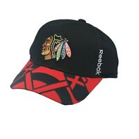 Chicago Blackhawks Youth Size Official Reebok Center Ice Collection NHL Hat New