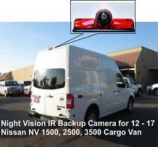 Backup Camera Infrared Night vision for 2012 - 17 Nissan NV Van 1500 2500 3500