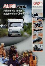 Prospekt AL-KO amc Fahrzeugtechnik Reisemobile 8/03 2003 Broschüre brochure