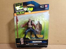 "Ban Dai Ben Ten 10 Ultimate Alien UA Aggregor 4"" inch Figure Mint in Card"