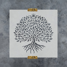 Yggdrasil Tree of Life Stencil - Durable & Reusable Mylar Stencils
