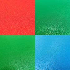 Fabric Freedom Gold Glitter Metallic Shimmer Craft Cotton - Green Red Blue