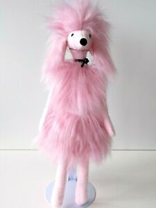 Jellycat - Paris  Poodle -  Soft Pink / Fluffy Puppy Dog