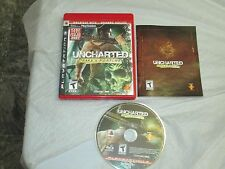 Uncharted: Drake's Fortune (PlayStation 3, PS3) complete
