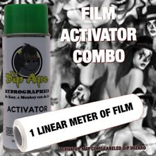 BAD GIRLS & CLOWNS DIP APE ACTIVATOR FILM COMBO HYDROGRAPHIC WATER TRANSFER