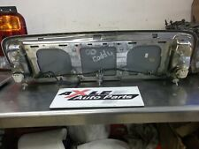 00-05 CADILLAC REAR TRUNK DECK LID CENTER LICENSE POCKET TRIM BEZEL LIGHT 180309