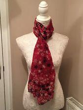 Red Star design Scarf Shawl scarves beach wrap accessory throw present gift