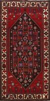 Traditional Abadeh Oriental Area Rug Tribal Hand-Knotted Geometric Carpet 5x10