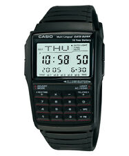 New Casio Gents Digital Multilingual Databank Calculator Alarm Watch DBC-32-1ADF