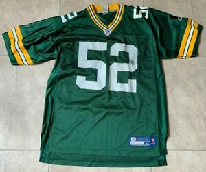 NFL OnField Green Bay Packers Clay Matthews #52 Stitched Men's Jersey L Large